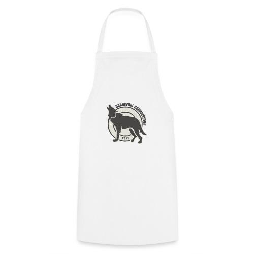Fleischfresser - Grillshirt - Der mit dem Wolf heu - Kochschürze
