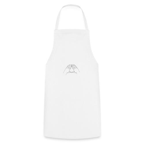 Hand Triangle Hoodie Women - Kochschürze
