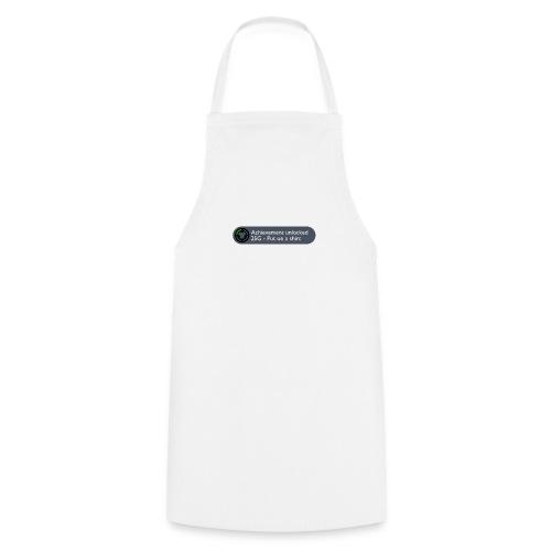 Achievement Unlocked: Put on a Shirt Design - Cooking Apron