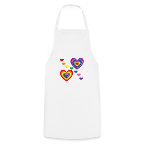 Flower Power Love - Kochschürze