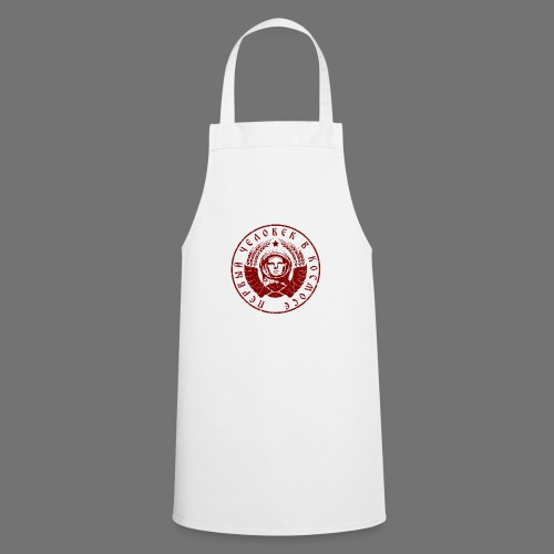 Cosmonaut 1c red (oldstyle) - Cooking Apron