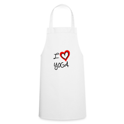 i Love Yoga - Kochschürze