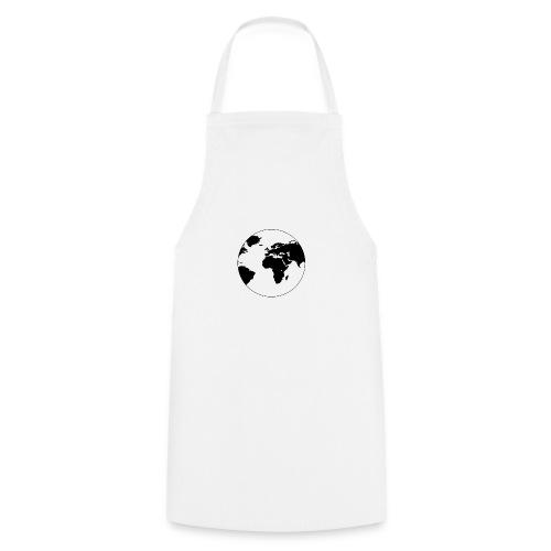 Cooles Design Erde - Kochschürze