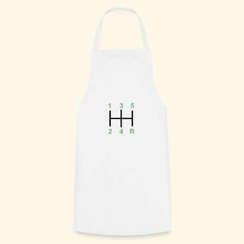 Palanaca de cambios en H. - Delantal de cocina