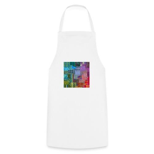 Knitting a rainbow - Förkläde