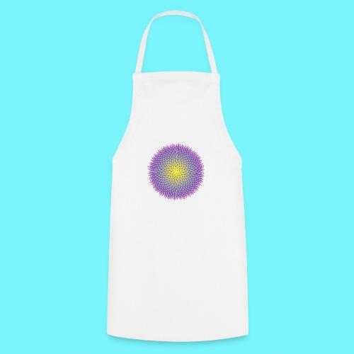 Fibonacci based image with radiating elements - Cooking Apron