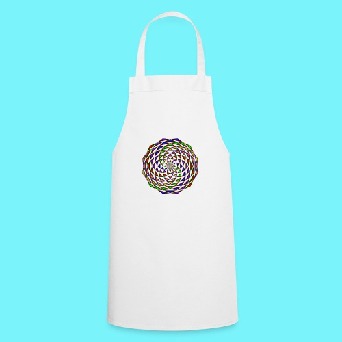 Mandala in rainbow colours - Cooking Apron