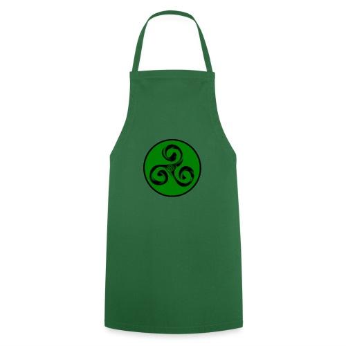 Triskel and Spiral - Delantal de cocina