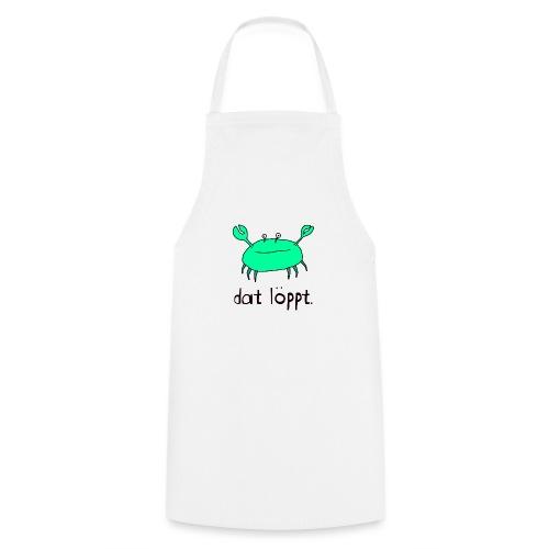 Ostfriesland FUN Shirt - Dat Löppt Strandkrabbe - Kochschürze