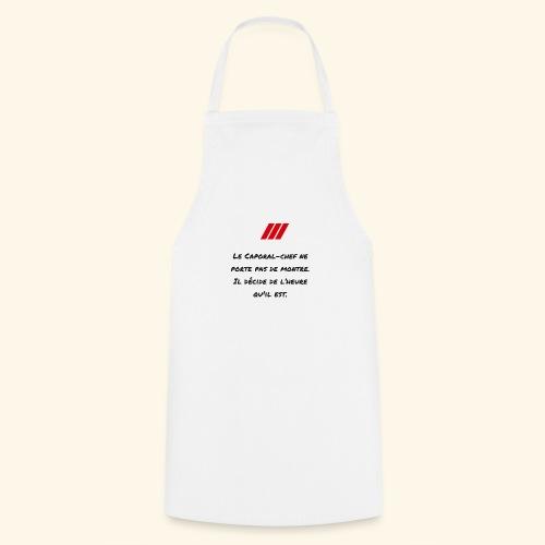 cchef montre - Tablier de cuisine