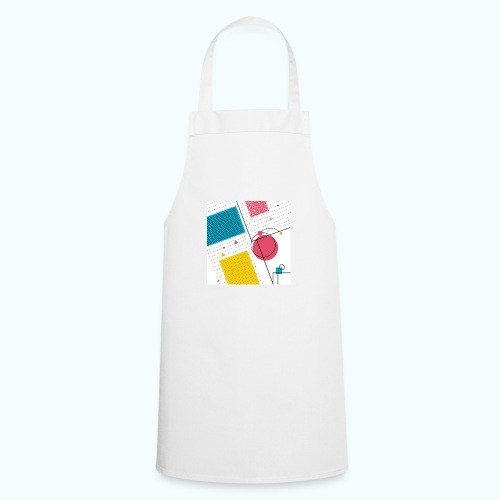 Colors shapes abstract - Cooking Apron