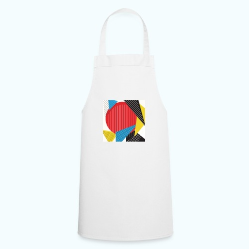 Geometry collage Abstract colors - Cooking Apron