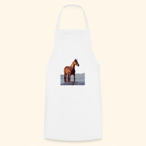 pferd im wasser - Kochschürze