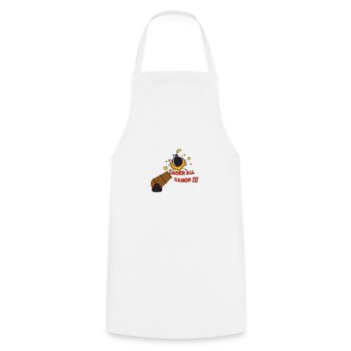 Denglisch-Shirt: under all canon, lustiges Shirt - Kochschürze
