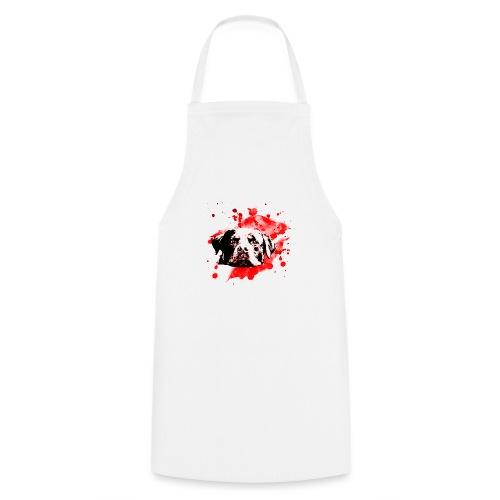 Rottweiler Watercolor red - Kochschürze