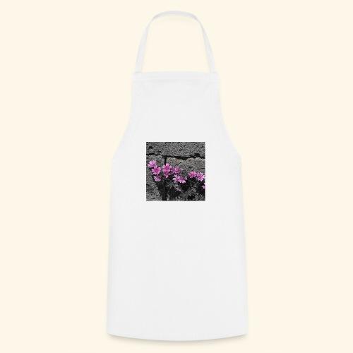 Fiori viola disegnati - Grembiule da cucina