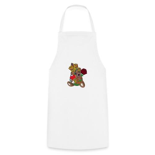 Miś na walentynki - Fartuch kuchenny