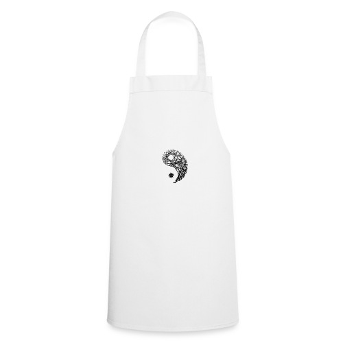 yin yan z z - Delantal de cocina