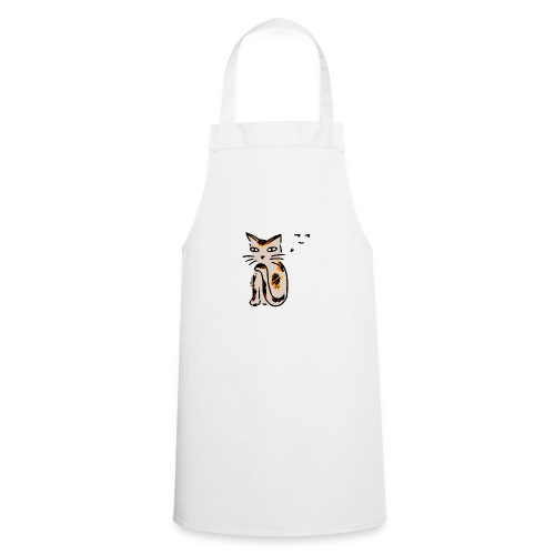 Hinterhältige Katze - Kochschürze