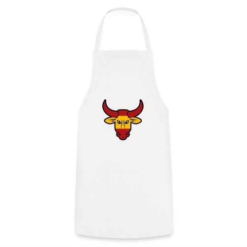 Toro Face - Delantal de cocina