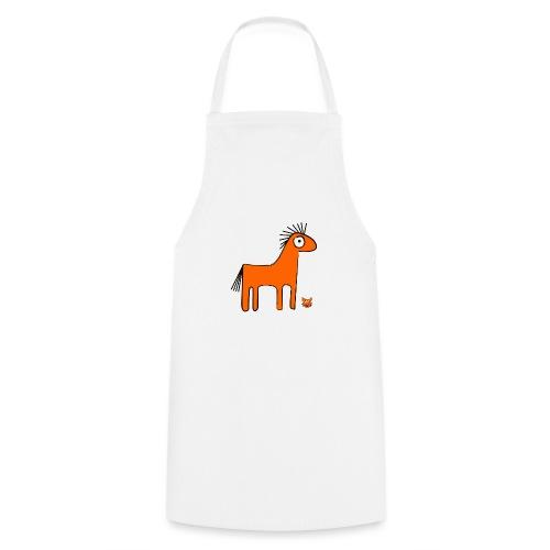 orange horse - Grembiule da cucina