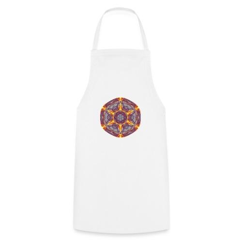 Star Poinsettia Mandala Lucky Star 9401I - Cooking Apron