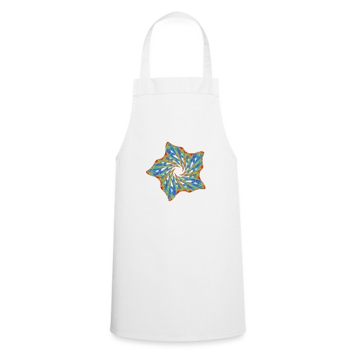 Colorful starfish with thorns 9816j - Cooking Apron