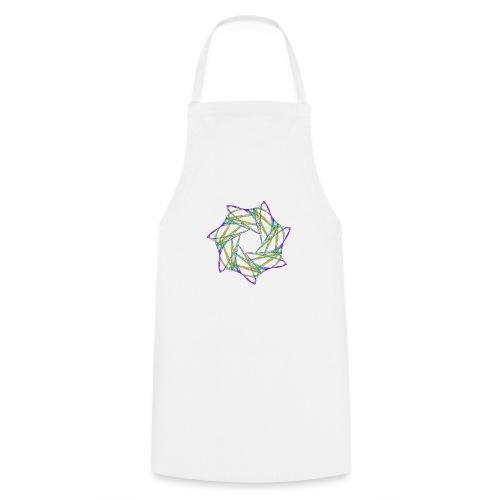 Chakra Mandala Mantra OM Chaos Star 12088grbw - Cooking Apron