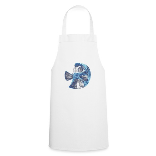 Watercolor art graphic painting picture chaos 13834 ice - Cooking Apron