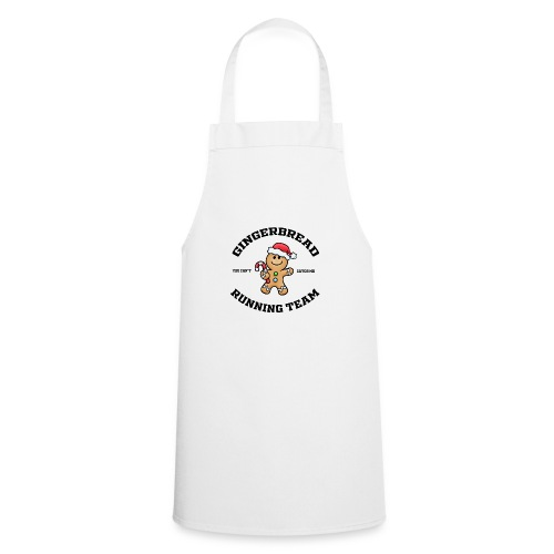 gingerbread running team - Cooking Apron