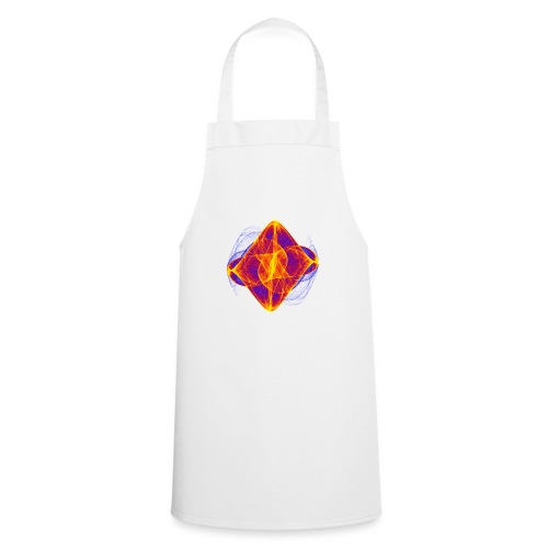 Watercolor art graphic painting picture chaos 6769bry - Cooking Apron