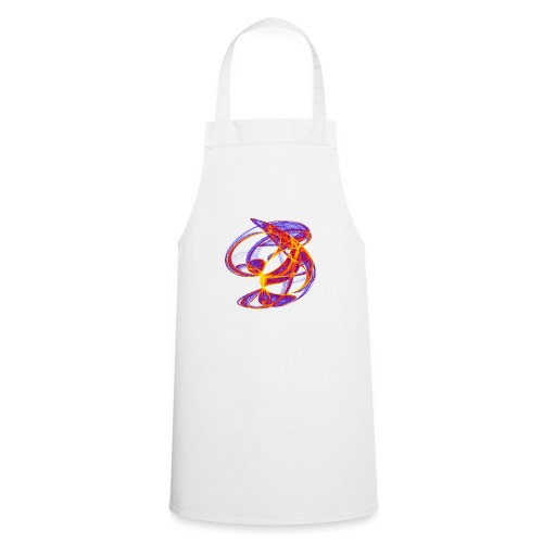Play of colors of the Clifford-Bahnen watercolor 7839bry - Cooking Apron