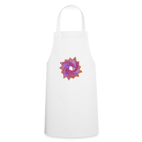 Spiral fan ammonite prehistoric animal fossil 11912bry - Cooking Apron