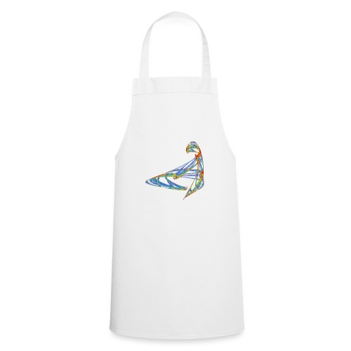 Happy play of colors 853 jet - Cooking Apron