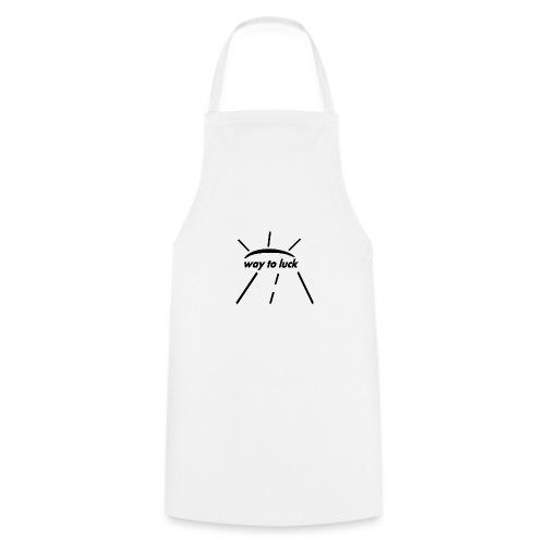 way to luck logo schwarz - Kochschürze