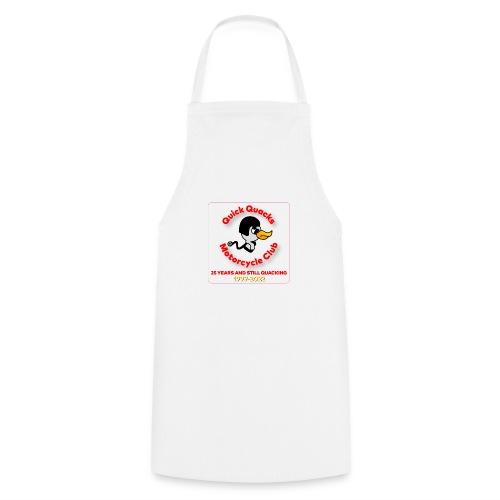 Quack logo 25 years no white square - Cooking Apron