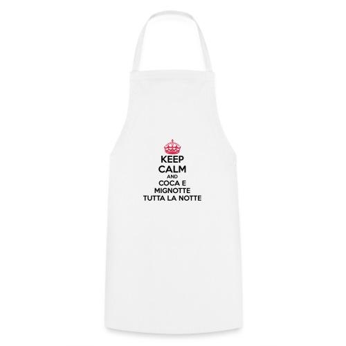 Coca e Mignotte Keep Calm - Grembiule da cucina