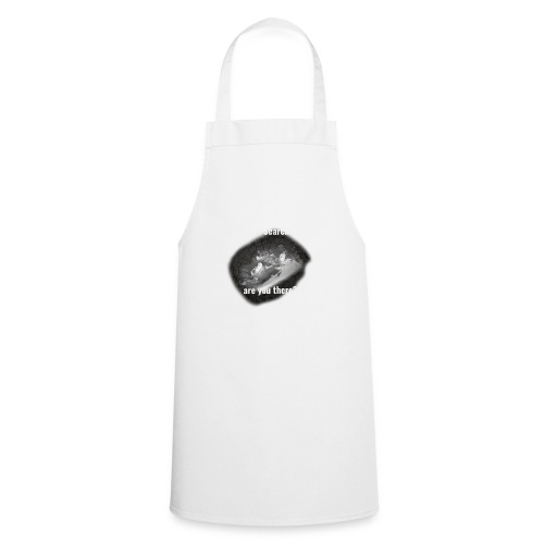 Hell Searcher, are you there? Men Black Hoodie - Cooking Apron