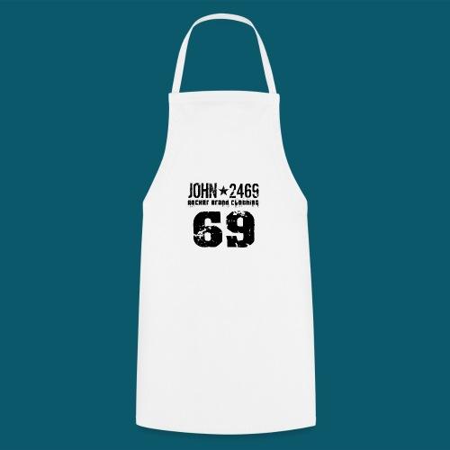 john 2469 numero trasp per spread nero PNG - Grembiule da cucina