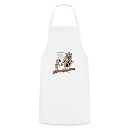 Halts Maul Mike - Makaken - Kochschürze