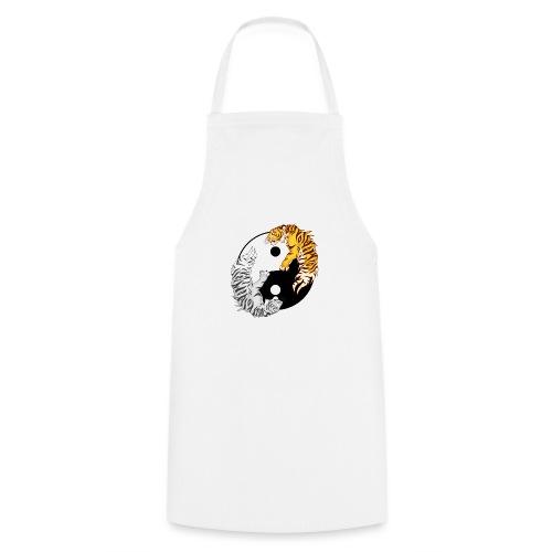 Yin & Yang Tigers - Fartuch kuchenny