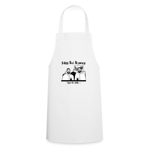 Black and White Logo - Cooking Apron
