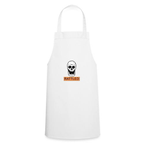 Rattled Spooky Halloween Skeleton Meme - Cooking Apron
