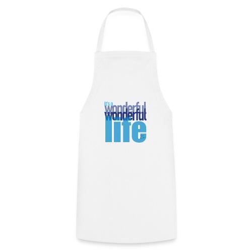 It's a wonderful life blues - Cooking Apron