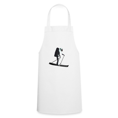 Moonlight Skiing - Cooking Apron