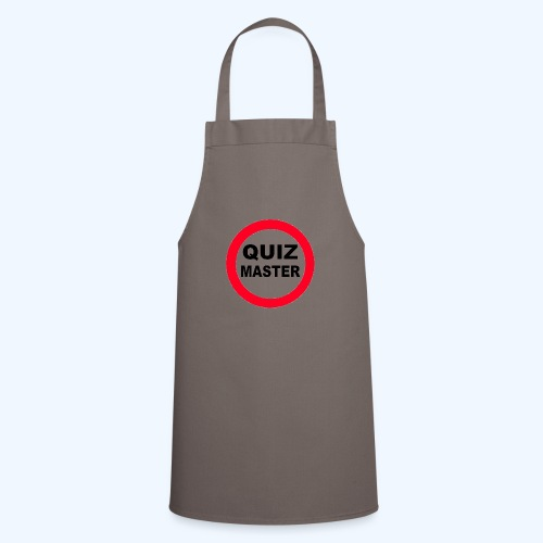 Quiz Master Stop Sign - Cooking Apron