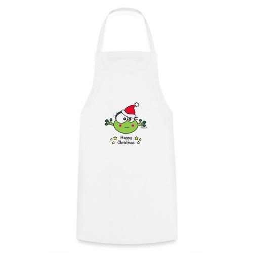 Grenouille F, Frog, Fêtes Nôel, Happy Christmas - Tablier de cuisine