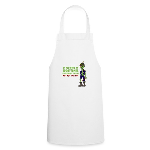 conspiracy theory - Cooking Apron
