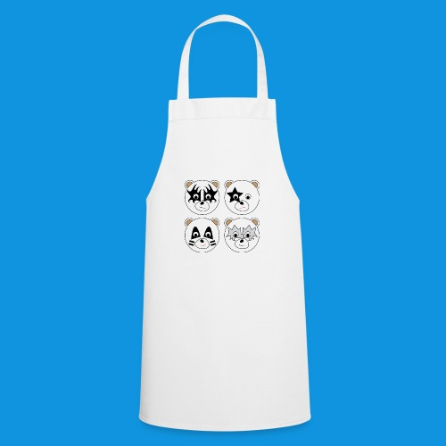 Kiss Bears (no text) - Cooking Apron
