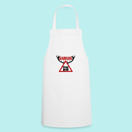 Warning Stag Do - Cooking Apron